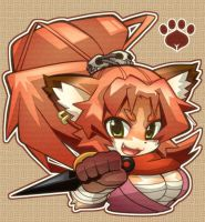 Momiji The Kemono Ninja by aka-aof