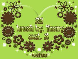 20 brush _set 3 by 7nany