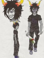 Homestuck Anime Project Gamzee by LuvAngelpie