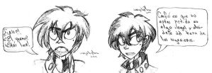 Evans sketches by FalloutCat