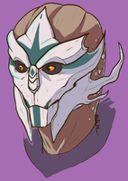 Anonymous Turian by Terrabyter