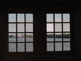 Rhone River Window 2 by FiLH