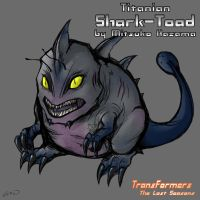 Titanian Shark-Toad by TF-The-Lost-Seasons