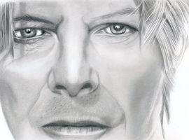 David Bowie by PaulTHutchins