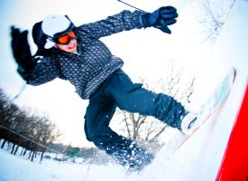 Snowboarding by ryancloutier