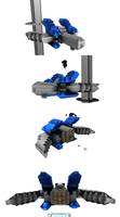 Starmade Arwing MK1 by Mind-Fracture