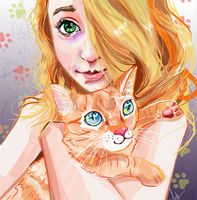 RGD Kitty Huggle by Finaz
