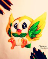 Rowlet by andropov97