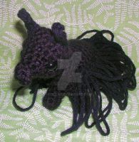 Black Crocheted Alpaca by Eliea