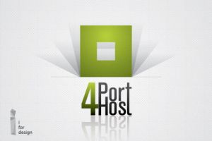 Port 4 host logo by i4dez