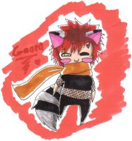 Gaara-coon again by XnamoreX