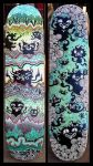 Skate Decks by ArtByAlexChiu