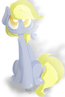Sadface Derp Derpppp {QUICK DRAW} by LlamasWithKatanas