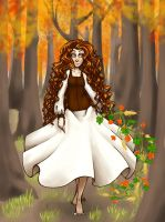 Dance of the Leaves by WhateverCat