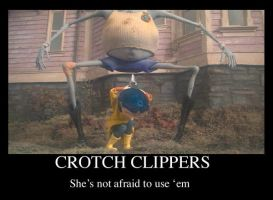 Coraline: Crotch Clippers by Graystripe64