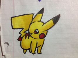 Pikachu Markers by bananners96
