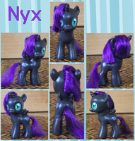 Commission: Nyx by phasingirl
