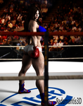 Boxing Girl II by Radamantis3d