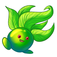Shiny Oddish by DragonDodo