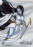 Nut Sketch Card - Classic Mythology II by tonyperna