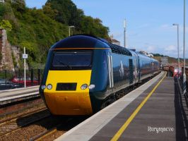 Great Western Railway 43188 at Dawlish by The-Transport-Guild
