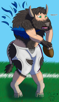 NFL TF #2: Billy the Buffalo by Pheagle-Adler