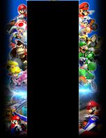 Mario Kart Youtube Background by Pheonixmaster1