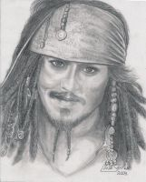 Captain Jack Sparrow by Artsy50