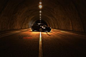 in the tube by DimitriBokowPhoto