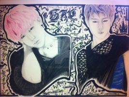 Zelo and Daehyun by Telli55