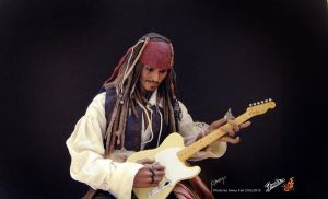 Captain Rock Sparrow by amoykid