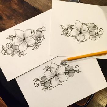 108- flower designs by Lucky978