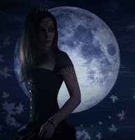 SuperMoon by TheMajesticCarnival