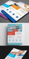 Clean Minimal Multipurpose Flyers vol. 7 by env1ro