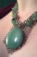 Aventurine and Chainmail by ulfchild