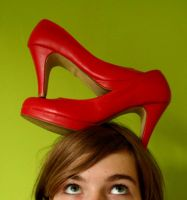 Red Pumps one by xPeeR