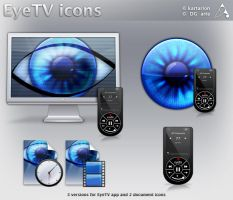 EyeTV icons by dgarte