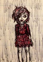 Red dress by TheLadyOfBlack