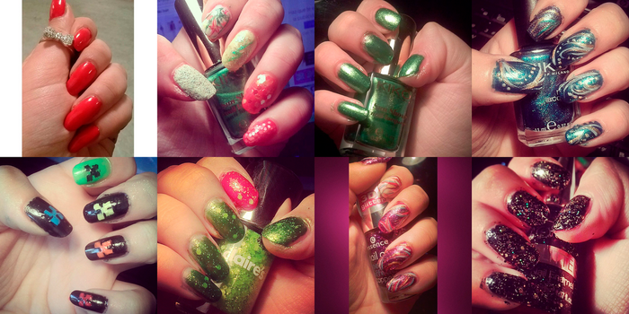 Nail art (part 4) by Rossally
