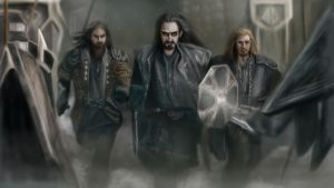 The Hobbit: Sons of Durin by AndreCronos