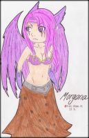 MORGANA - THE FALLEN ANGEL CHIBI by ii-ris-chan