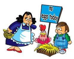 no eggs today by barshomy2