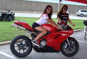 Ducati Girls by N1CE-ONE