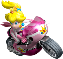 Princess Peach Artwork - Mario Kart Wii[1] by chow11
