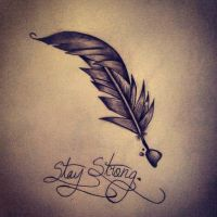 Stay Strong. by C-Gray