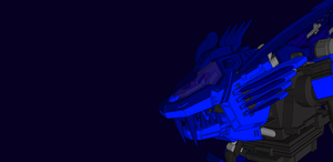 Custom Blue liger by RZ-028-Hellblaze