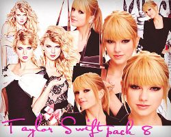 Taylor Swift Pack of 8 PNGS by SweetCocaineLove