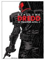 Dredd Rambo color by Walmsley