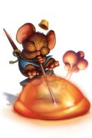 Glassblower Mouse by joanna-tsui
