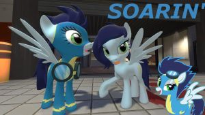 MLP- Female Soarin' by LunarGuardWhoof